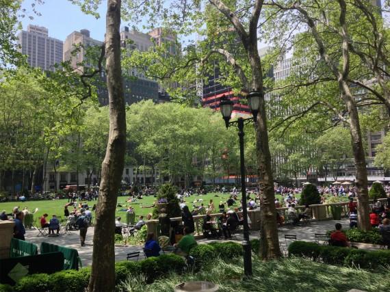 New York - Byriant Park