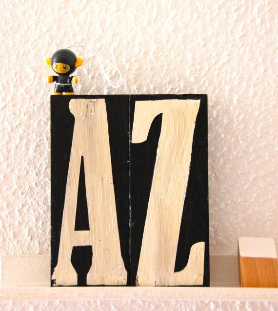 """Buchstaben Deko von """"A-Z"""""""