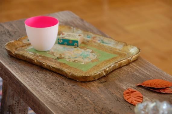 DIY - Tisch im Vintage-Look