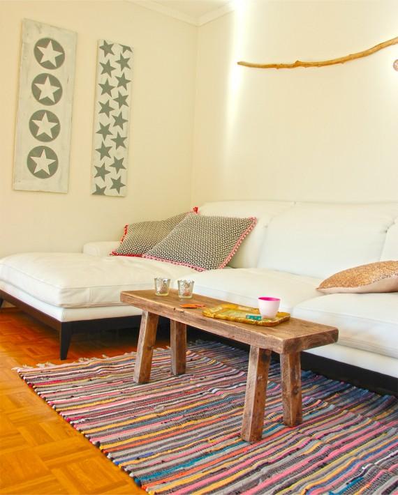Wohnzimmer - neuer Couchtisch
