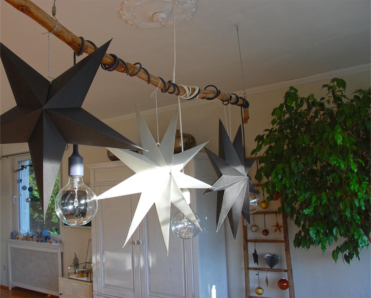 weihnachtliche tischdeko roomilicious. Black Bedroom Furniture Sets. Home Design Ideas