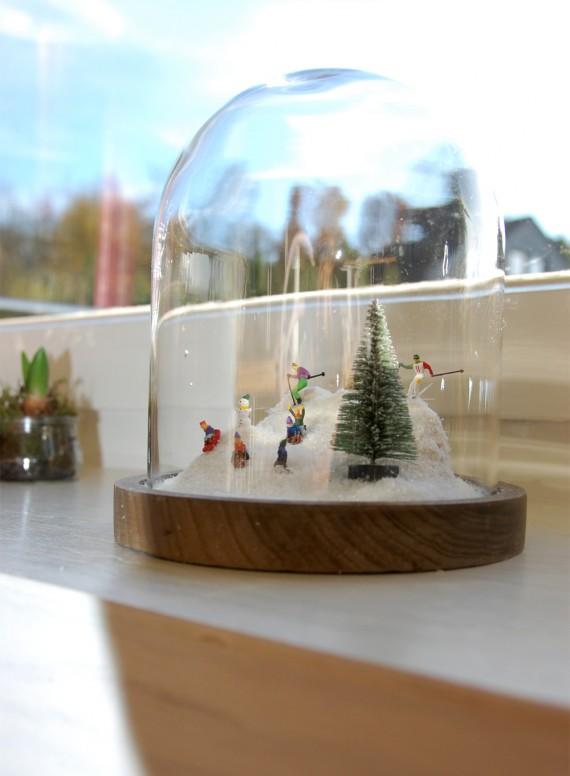Winterlandschaften im Glas, Cloche