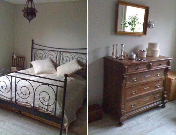 Schlafzimmer makeover - vorher