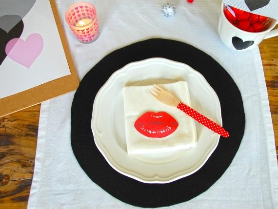DIY - Deko zum Valentinstag