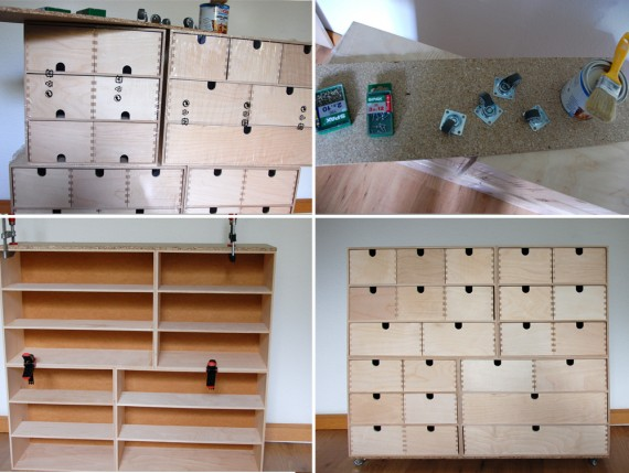 DIY- Moppe-Schrank