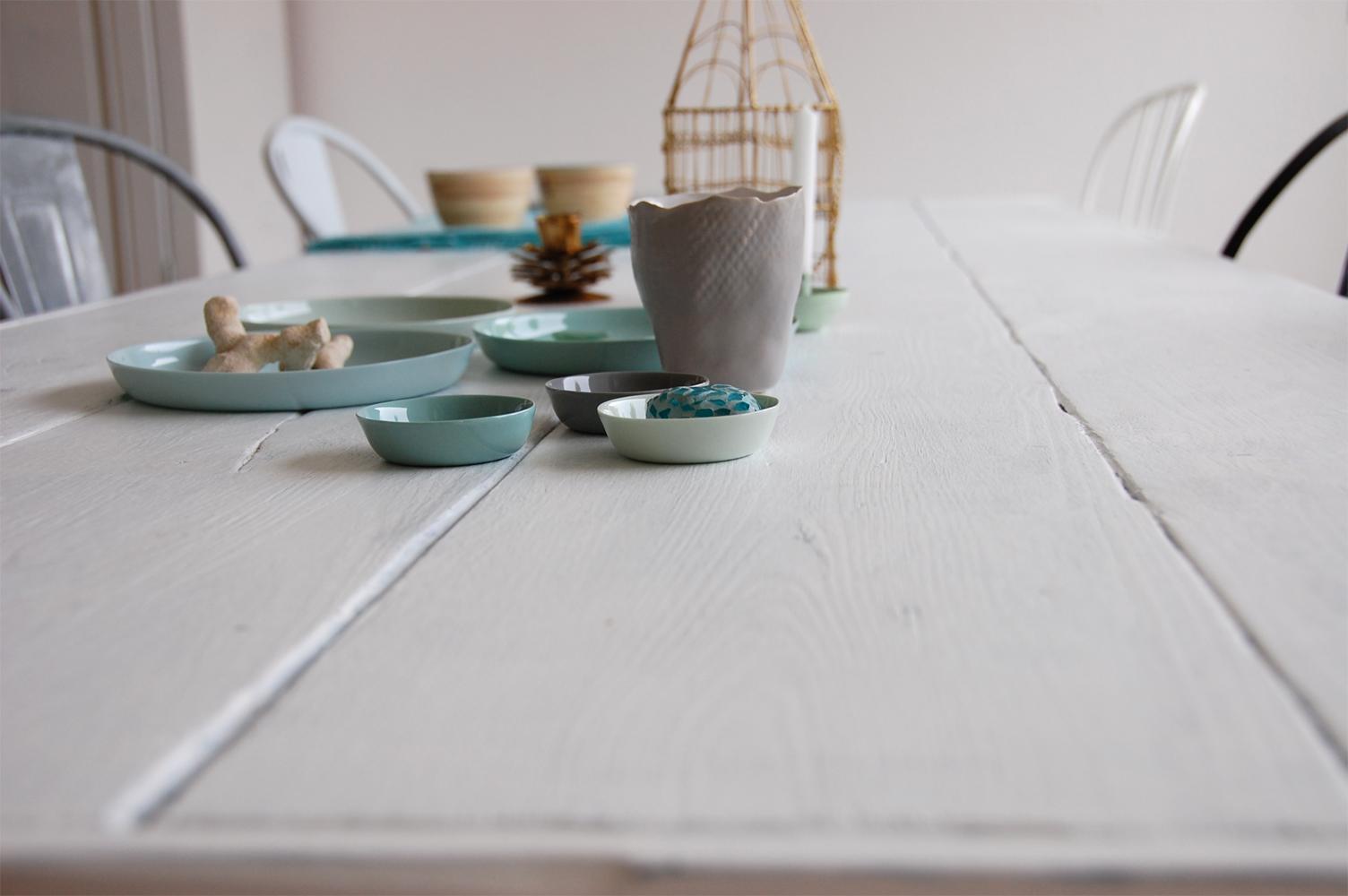 DIY - Shabby Chic Tischplatte