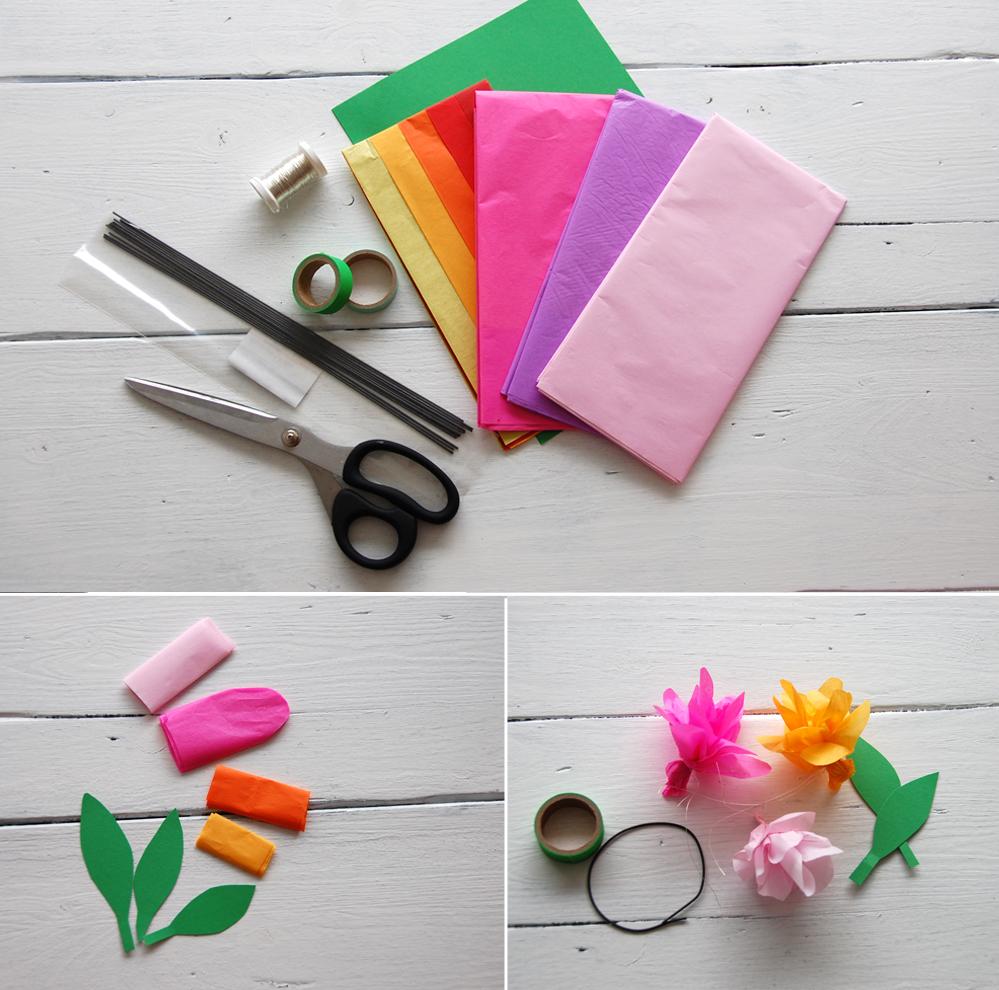 DIY - Serviettenring aus Seidenpapier