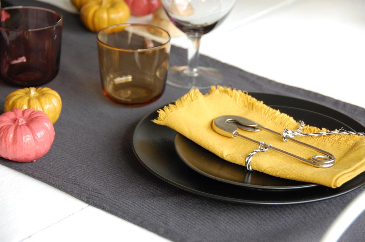 Tischdeko mit Sittning