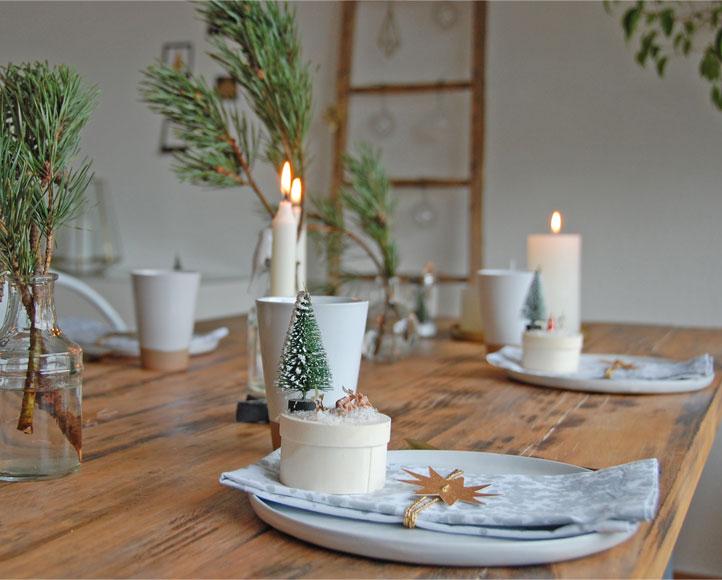 Advent - Kaffeetrinken - Tischdeko