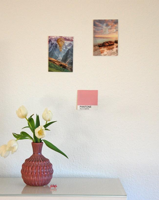 Frühling - Deko: Pantone Farbe 2016 Rose Quartz