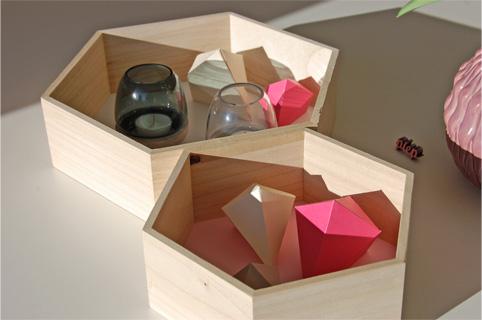 Frühling - Deko DIY Papierdiamanten