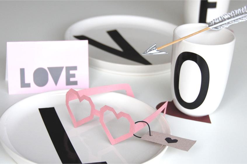 Deko Valentinstag