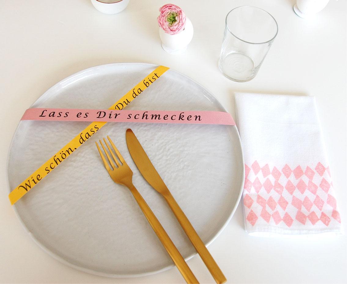 Ostern - Tischdeko