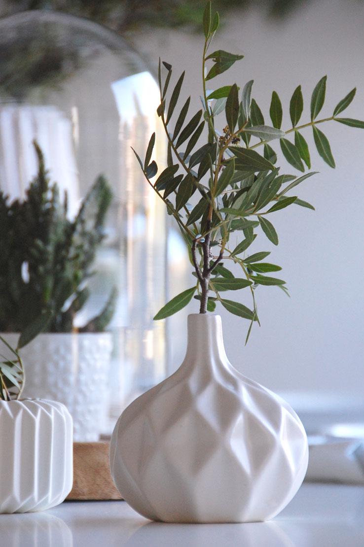 Tischdeko Blätter