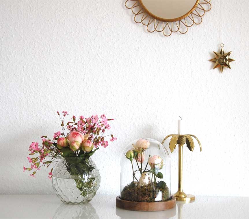 Cloche dekorieren