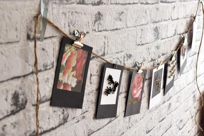 DIY  - Polaroidrahmen für yomonda