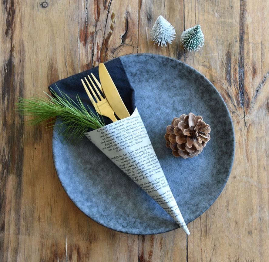 Drei Ideen für eine Tischdeko