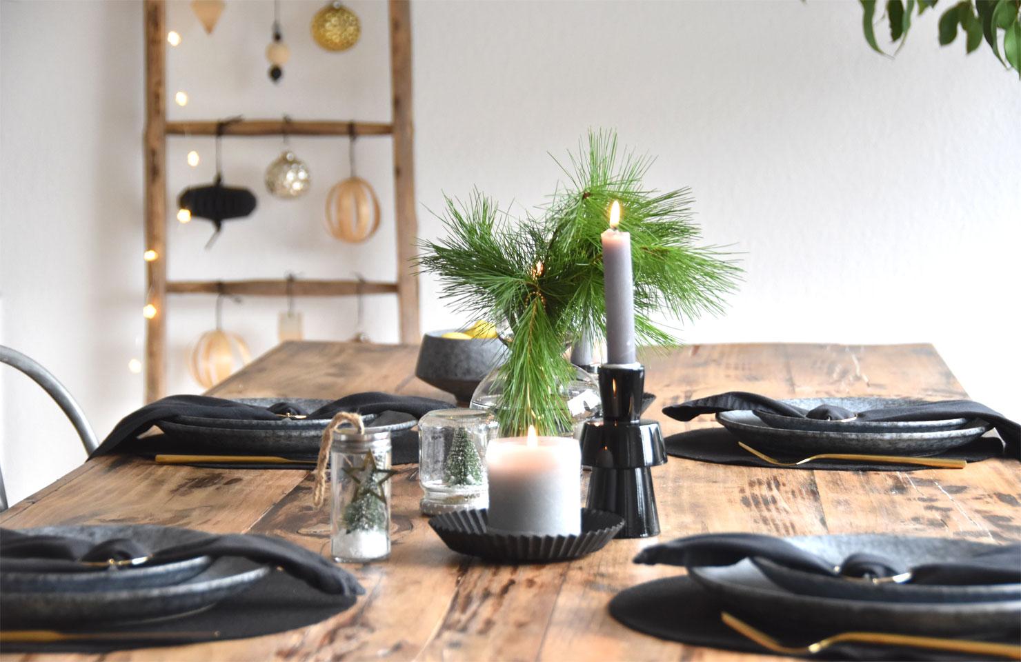 Adventsessen - Tischdeko