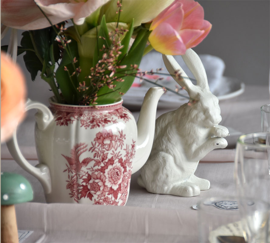 Tischdeko - Alice im Wunderland