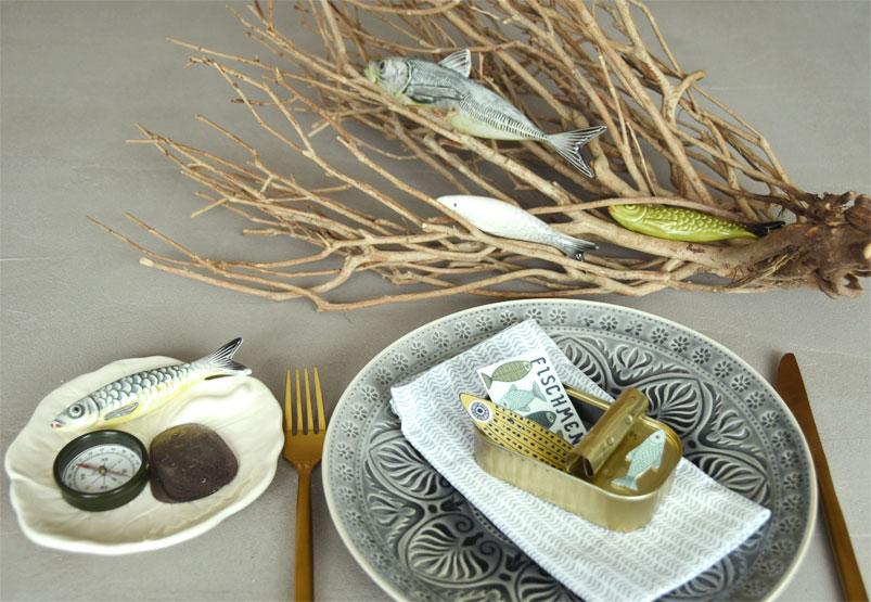 Maritime Tischdeko und DIY mit Sardinendosen