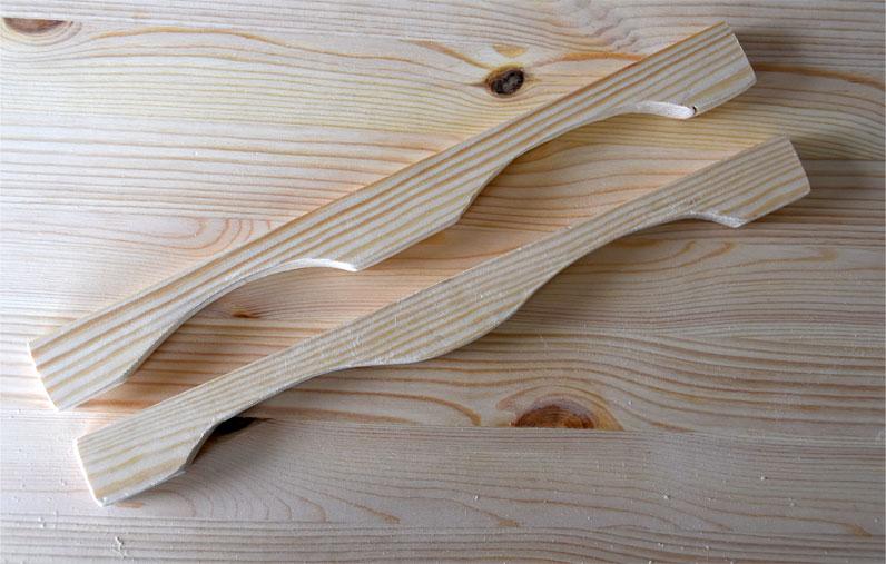 DIY - Deko-Tablett aus Holz