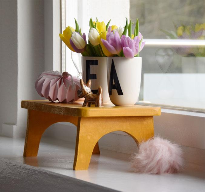 DIY - kleine Holzbank