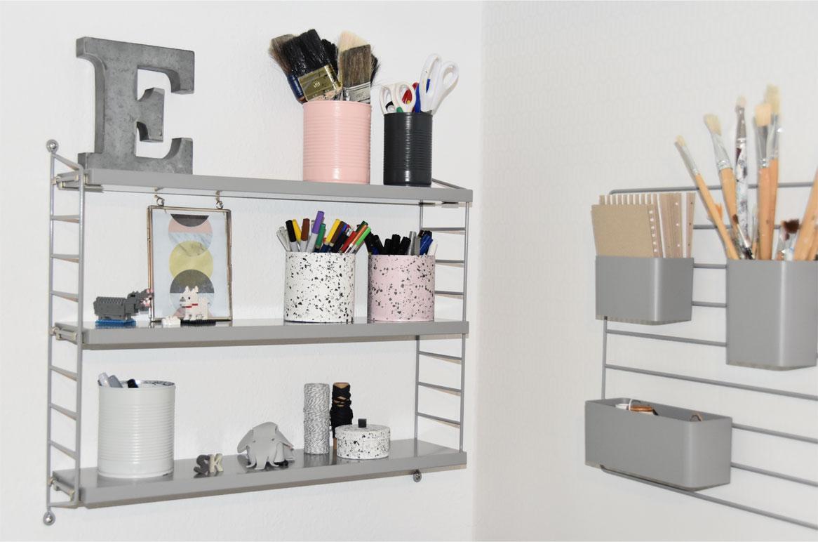DIY im Terrazzo - Look