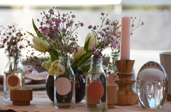 Frühlings-Tischdeko