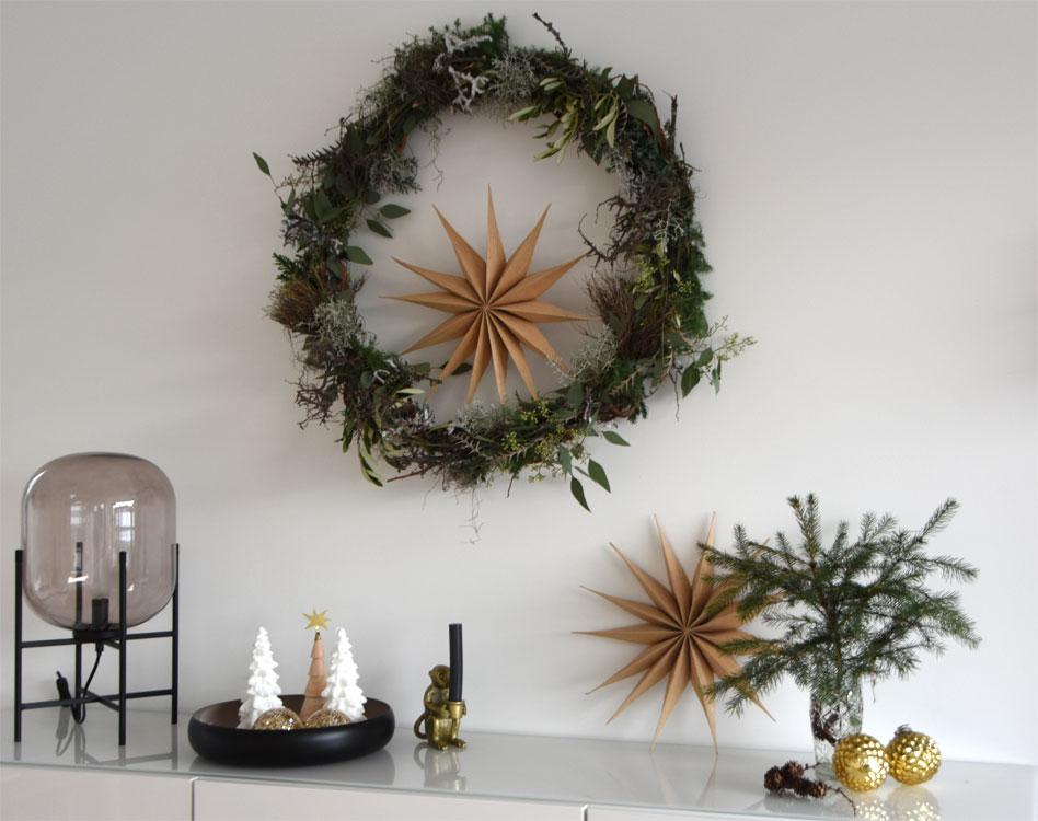 Weihnachtsdeko - Kranz