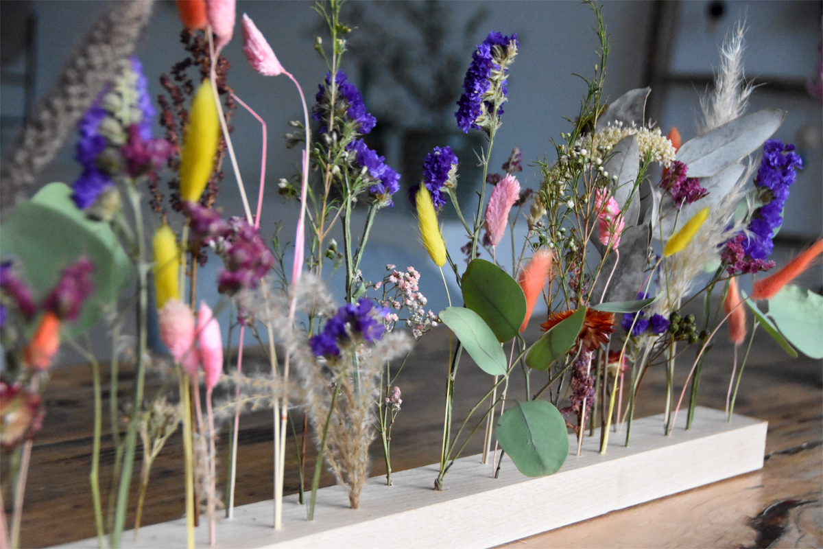 DIY mit Trockenblumen