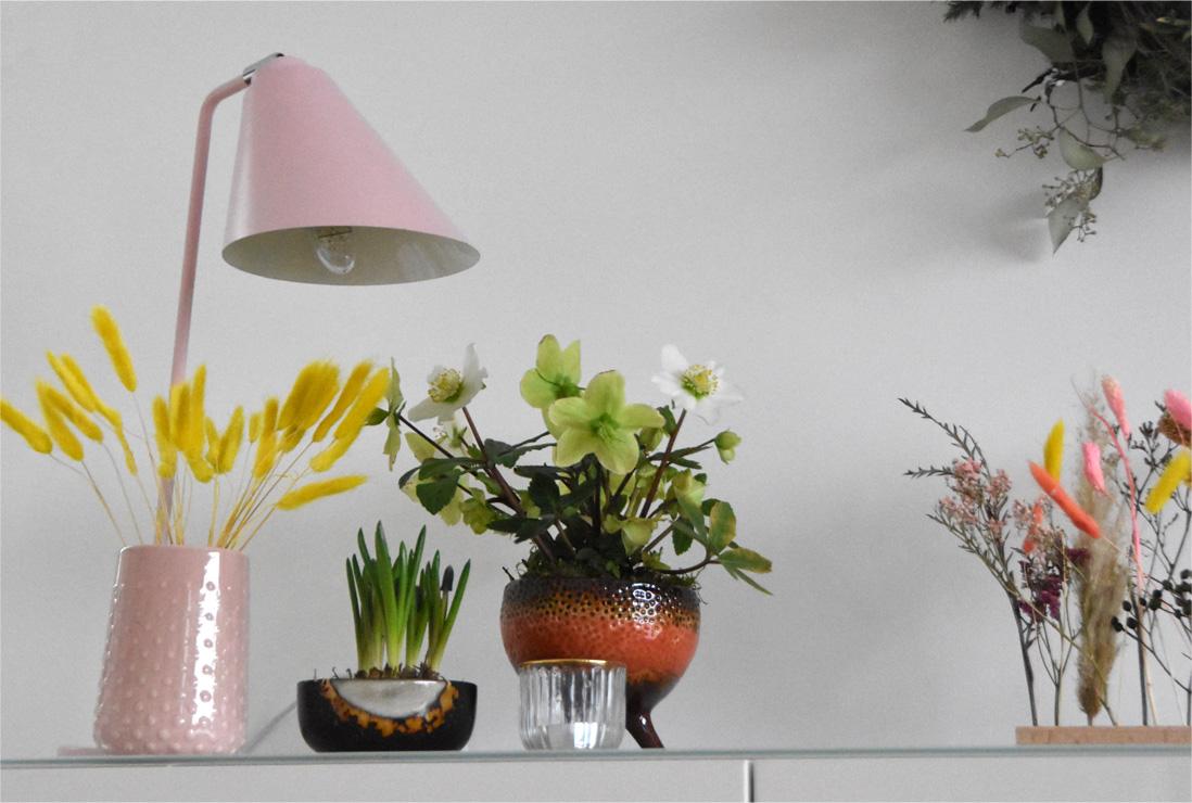 Neue Farben - Deko in Rosa und Karamell