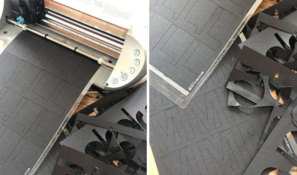 Letterboard- DIY - Buchstaben