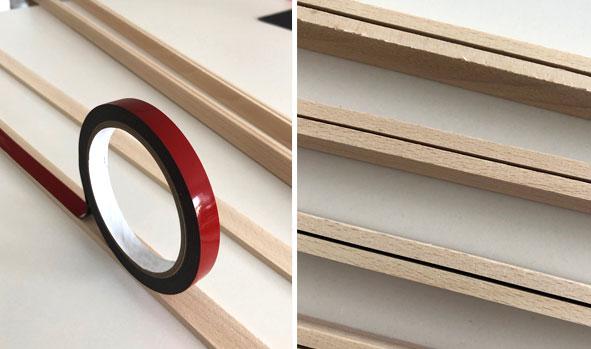 Letterboard- DIY - Leisten