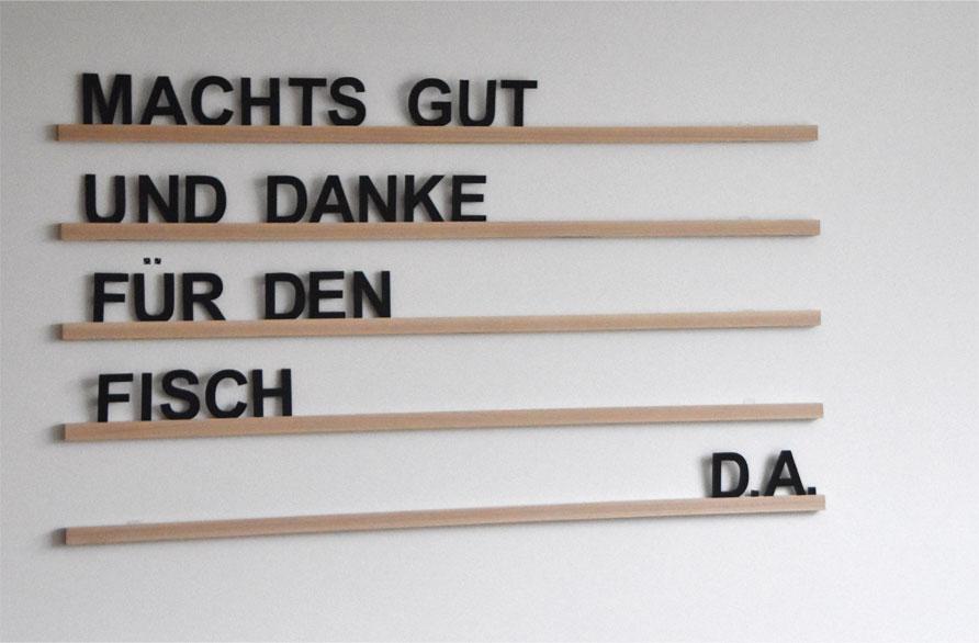 DIY - Letterboard